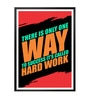 Lab No.4 - The Quotography Department Paper & PU Frame 13 x 1 x 17.5 Inch Success Called Hard Work Gym Quote Framed Poster