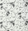 Lalco Interiors White & Black High Quality Paper Whimsy Wallpaper