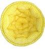 ORGANIC COTTON Kids Lap Pouffe in Yellow & White by Reme