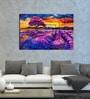 Hashtag Decor Lavender Fields Engineered Wood 30 x 20 Inch Framed Art Panel