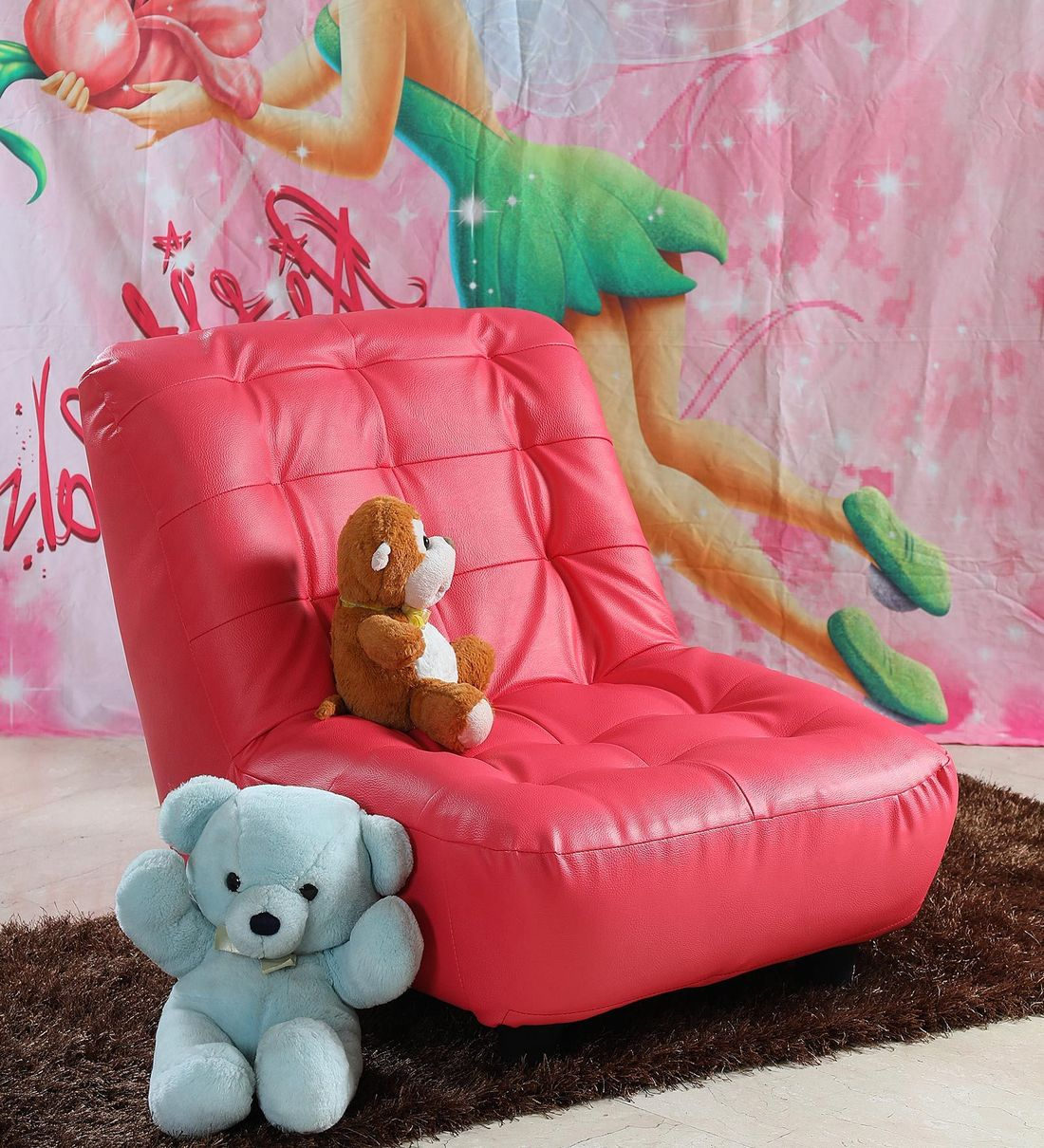Picture of: Buy Laze Kids Sofa In Pink By Fullstock Online Kids Sofas Kids Seating Kids Furniture Pepperfry Product
