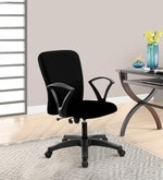Leno Ergonomic Chair in Black Colour