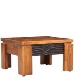 Leopold Coffee Table in Walnut & Black Colour