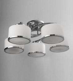 Chandeliers buy jhommer lightscrystal chandeliers online in india white glass chandelier aloadofball Gallery