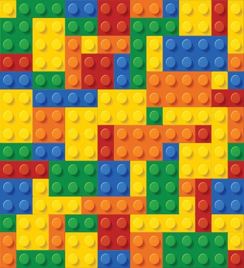 Print a Wall Paper Lego Blocks PVC Free Wallpaper by Print A ...