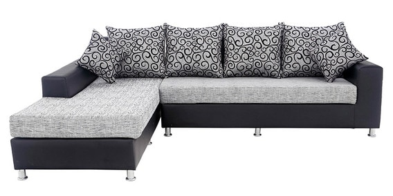 Lemson RHS Three Seater Sofa Set And Divan By Elegance By Looking Good  Furniture