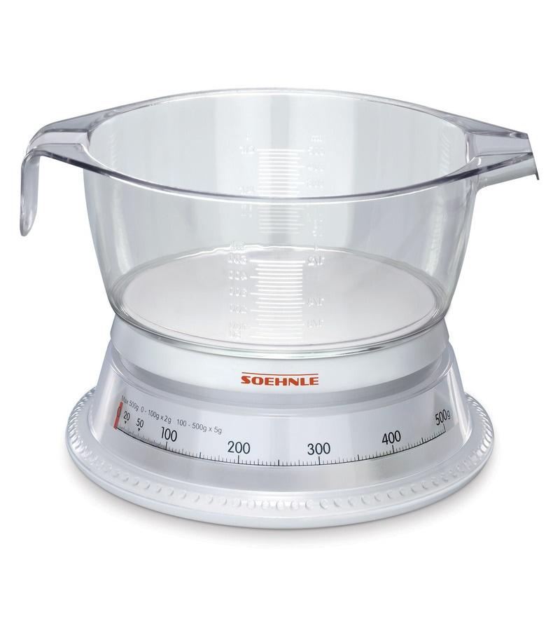 Leifheit Soehnle Analogue VARIO Kitchen Scale