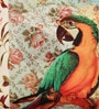 Multicolour Poly Duck Parrot Cushion Cover by Leaf Designs