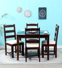 Lyndon Four Seater Dining Set in Provincial Teak Finish by Woodsworth
