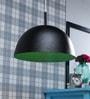 LeArc Designer Lighting Black & Green Aluminium Pendant