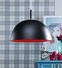 LeArc Designer Lighting Black & Pink Aluminium Pendant