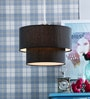 Fabric Shade Pendent HL3792 by LeArc Designer Lighting