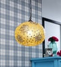 Glass Metal Pendent Single HL3848 by LeArc Designer Lighting
