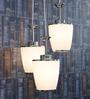 Glass Metal Pendent Multiples HL3839-3 by LeArc Designer Lighting