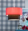 Fabric Shade Pendent HL3790 by LeArc Designer Lighting