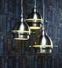 Learc Designer Lighting Satin & Nickel Aluminium Pendant