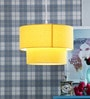 Fabric Shade Pendent HL3795 by LeArc Designer Lighting