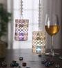 Multicolour Metal Circle Cage Big Moti Chain Led Toran - Set of 2 by Gupta Glass Gallery