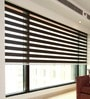 Lenbitz Brown Polyester Designer Blind