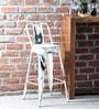 Raglan Bar Chair in Distress Finish by Bohemiana