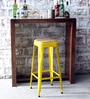 Mehia Bar Stool in Yellow Color by Bohemiana