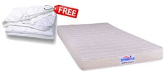 Little Angel 4 Inches Thick Premium Foam Single Mattress (FREE Mattress Protector)