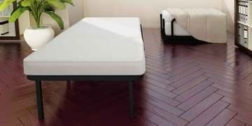 Livean Single Bed with Mattress by Camabeds at pepperfry