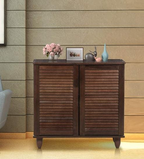 wooden shoe cabinet furniture. Libra Two Door Shoe Rack In Walnut Finish By Royal Oak Wooden Cabinet Furniture H
