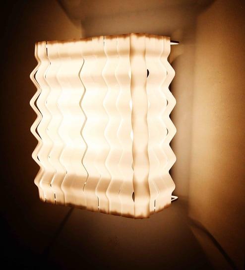 Buy lightspro white plastic wall lamp online two way wall lights lightspro white plastic wall lamp aloadofball Choice Image