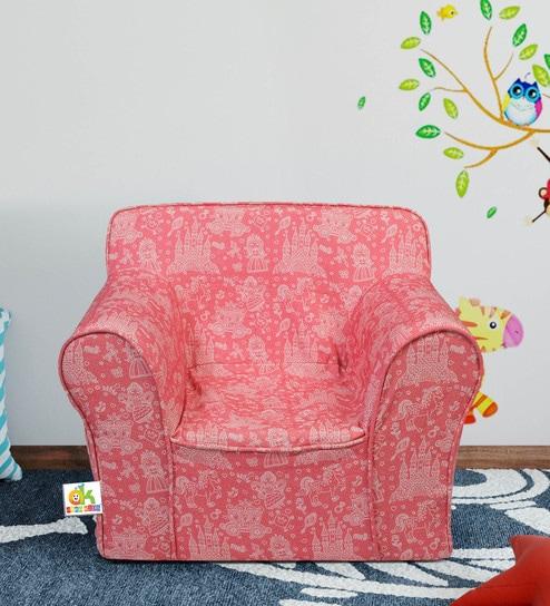 Little Joe Foam Arm Sofa In Pink By