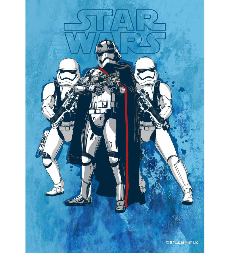 Licensed Starwars Team Storm Trooper Digital Printed with Laminated Wall Poster