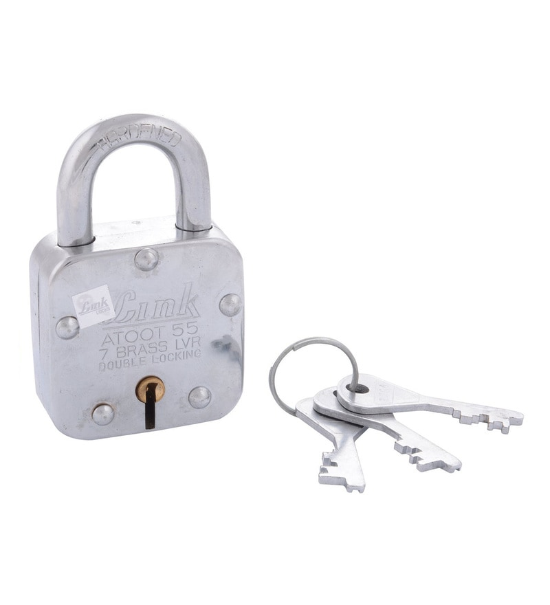 Link Atoot 55 mm Brass & Steel Padlock