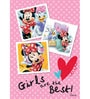 Licensed Disney Daisy & Minnie Digital Printed with Laminated Wall Poster by Orka