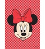 Licensed Disney Minnie Face Digital Printed with Laminated Wall Poster