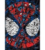 Licensed Marvel Spiderman Face Printed Digital Printed with Laminated Wall Poster by Orka