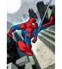 Licensed Marvel Spiderman Printed Digital Printed with Laminated Wall Poster by Orka