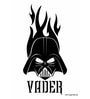 Licensed Starwars Vader Face Digital Printed with Laminated Wall Poster by Orka