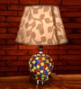 Lightspro Multicolour Fabric Table Lamp