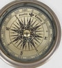 Brown Brass Paper Weight Design Float Dial Lens View Compass by Little India