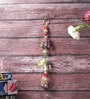 Brown Wooden Decorative Elephant Design Wall & Car Hanging by Little India