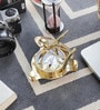 Gold Brass Nautical Sundial Compass by Little India