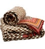 Little India Multicolour Indian Ethnic Cotton Queen Size Quilts - Set of 2