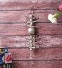 Little India Silver Metal Lemon Chilly Wall Door Hanging