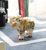 White Marble Handmade Rajasthani Elephant Handicraft by Little India