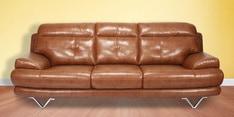 Lloyd Three Seater Sofa in Brown Colour