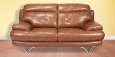 Lloyd Two Seater Sofa in Brown Colour