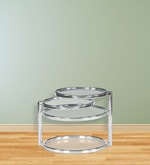 Lorena with Four Ring Glass Center Table Finish