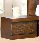 Lorita Bed Side Table in Amelia Oak Finish