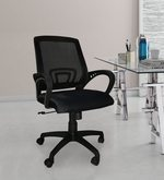 Low Back Ergonomic Chair with Nylon Base