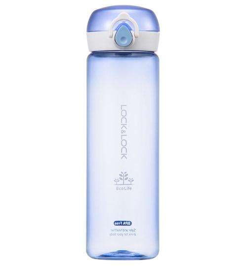 b7c430f987 Buy Lock&Lock One Touch Bottle Blue Tritan 550 ML Bottle Online ...